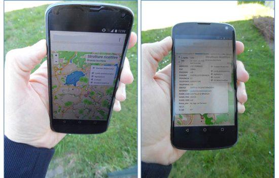 applicazione su smarthphone